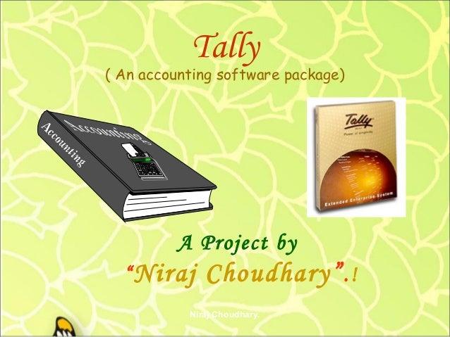 Tally project by niraj