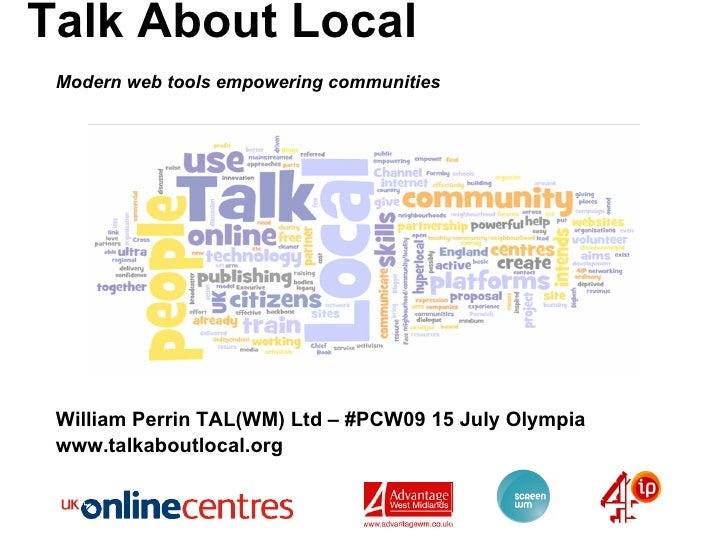 Talk About Local - PCW09