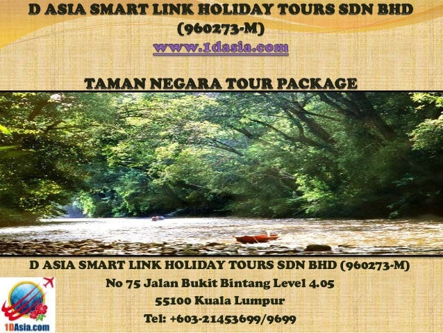 Taman Negara Tour Package