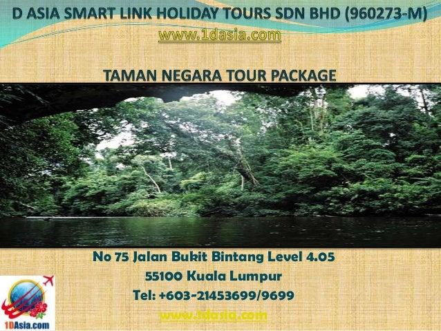 Taman Negara Tour Package