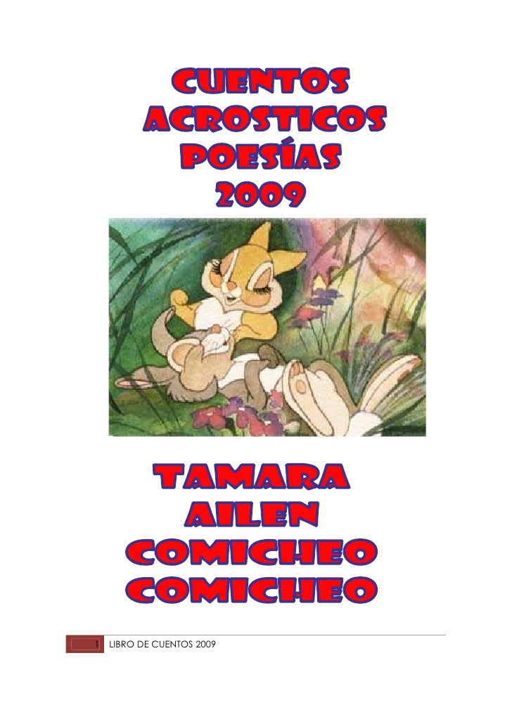 1   LIBRO DE CUENTOS 2009