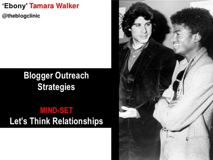 Blogger Outreach: The Blogger Perspective
