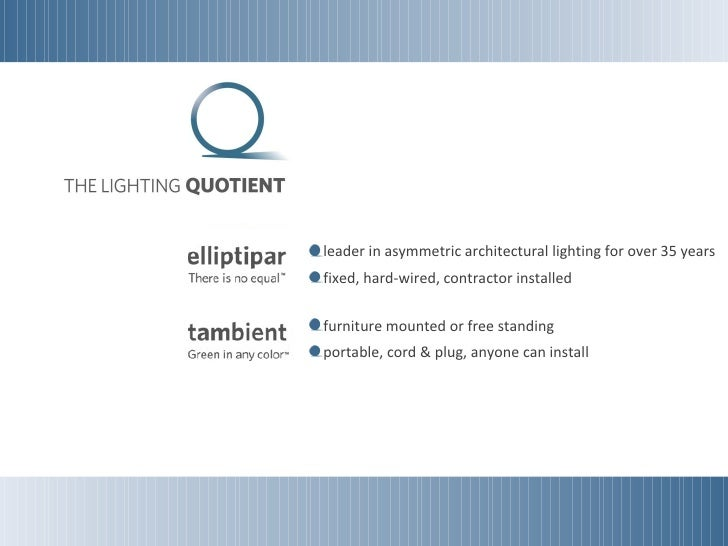 Office lighting - Tambient General