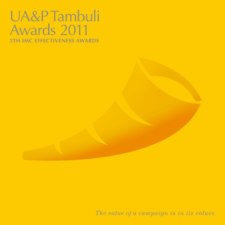 Tambuli Awards 2011 brochure