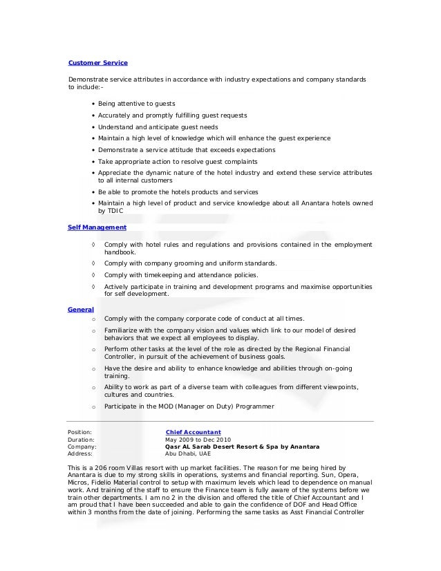 resume for service industry careers advisor resume london sales ...