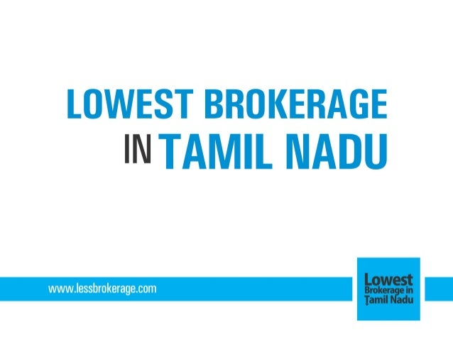 Trading brokerage charges india