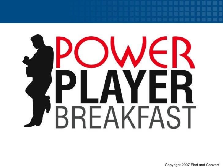 Tampa Bay CEO Breakfast: Web 2.0