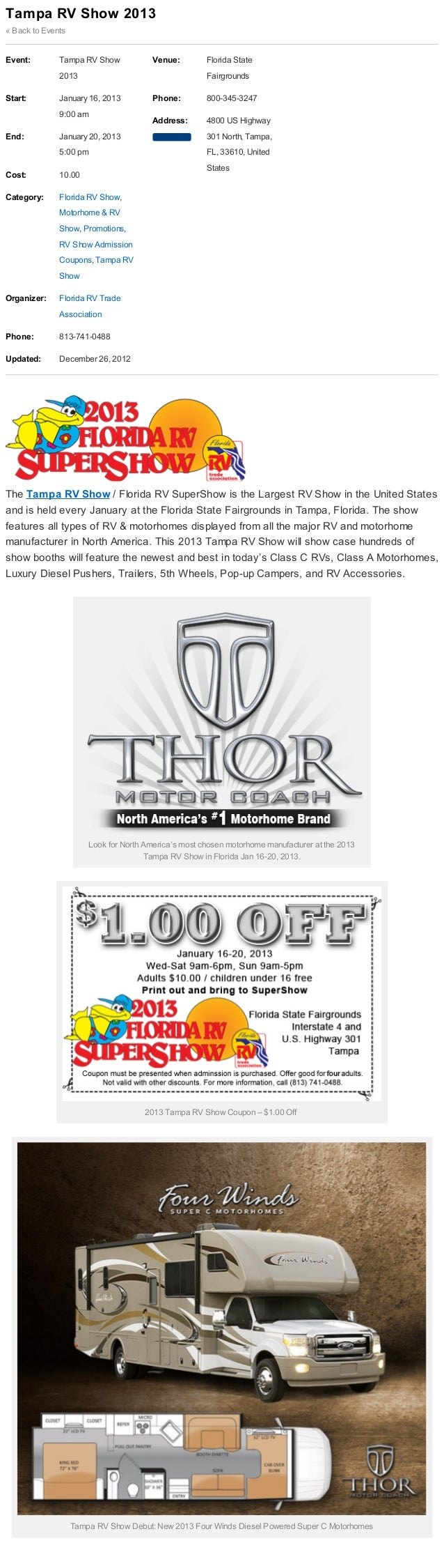 BLOG HOME       THOR MOTOR COACH             MOTORHOMES           DEALER FINDER         LITERATURE   OWNERS     COMPANY   ...