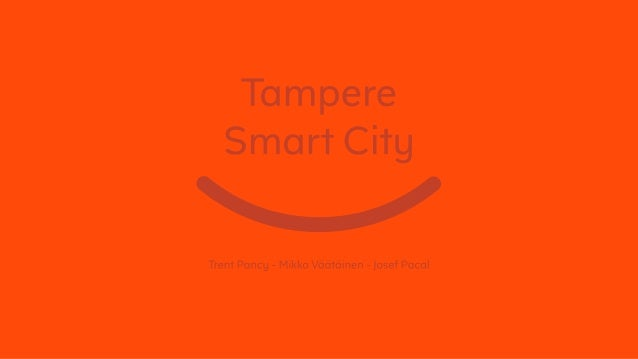 Tampere Connected City Booklet