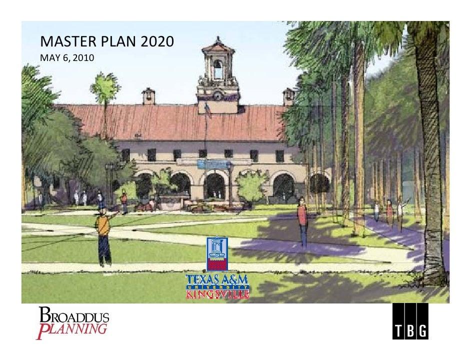 TAMU-K Master Plan 2020