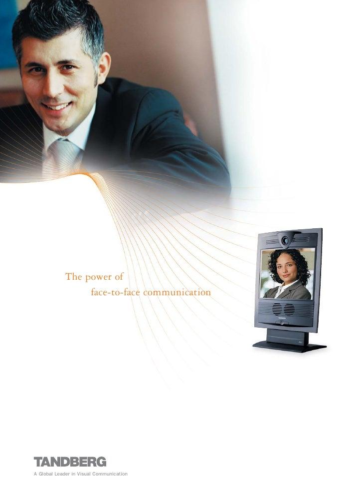 TANDBERG Video Conferencing Solutions