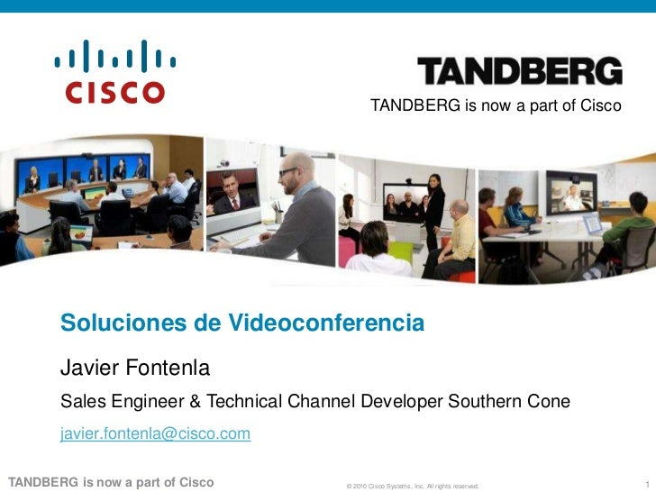 Soluciones de Tandberg Evento Colaboración Perú