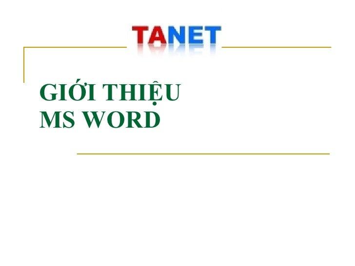 Tai Lieu On Thi Cong Chuc Thue - MS word