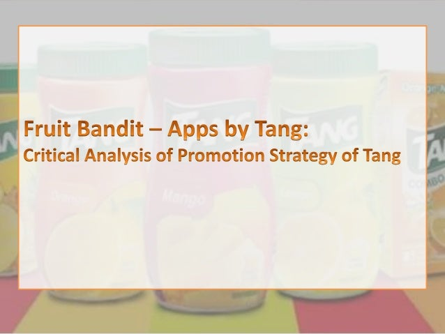 "Case at a Glance Tang has created a first-of-a-kind game called ""Fruit Bandit"" as a follow-up to its recent ""Twins Campaig..."