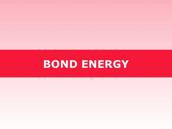 Tang 06   bond energy