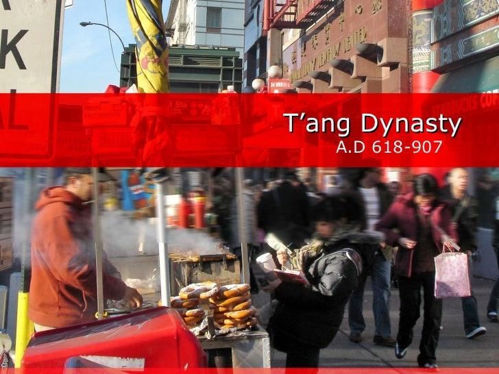 T'ang dynasty