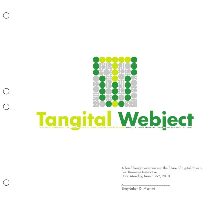 Tangital Webjects Presentation Document