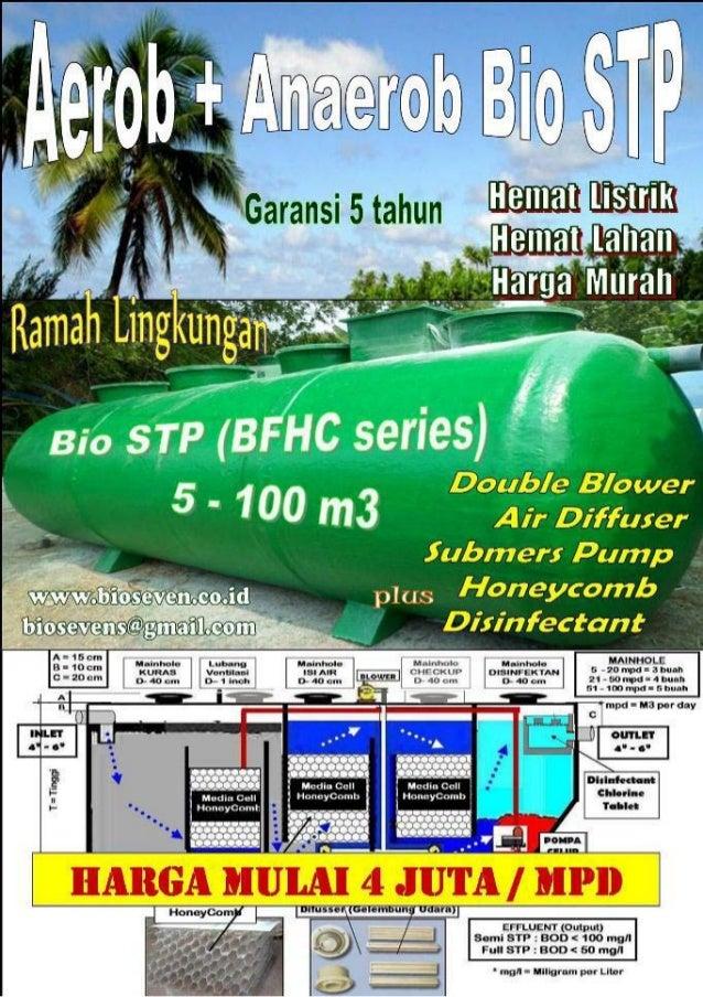 Tangki ipal kosong (biofilter tank) sistem anaerob upgradeable aerob ekonomis & ramah lingkungan by bio seven