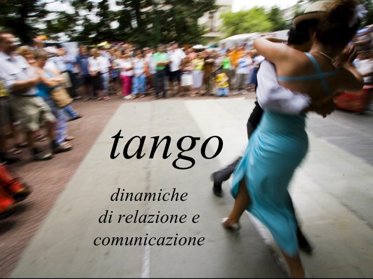 Tango - comunicazione e dinamiche di relazione