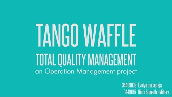 a research on total quality management