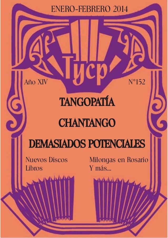 Tango y cultura popular n°152