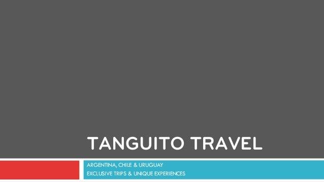 Tanguito Travel