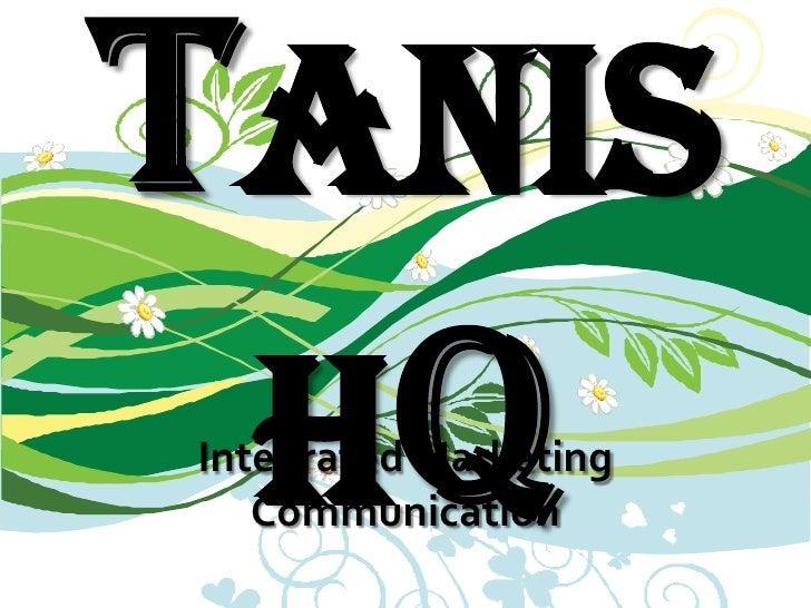 Tanishq<br />Integrated Marketing Communication<br />