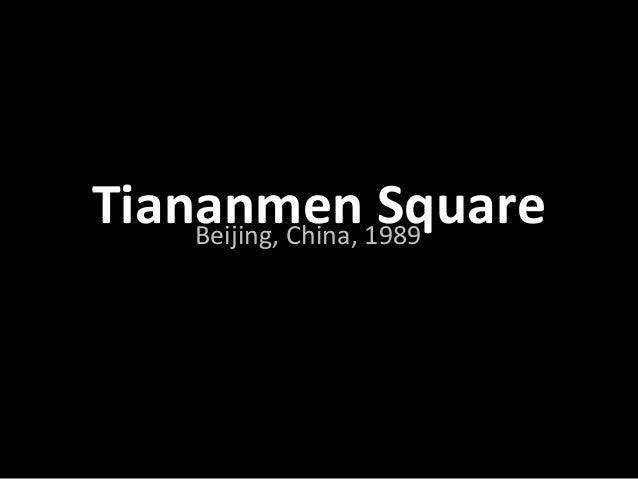 Tiananmen SquareBeijing, China, 1989http://www.360cities.net/image/beijing-tiananmen-square#359.90,0.80,70.0