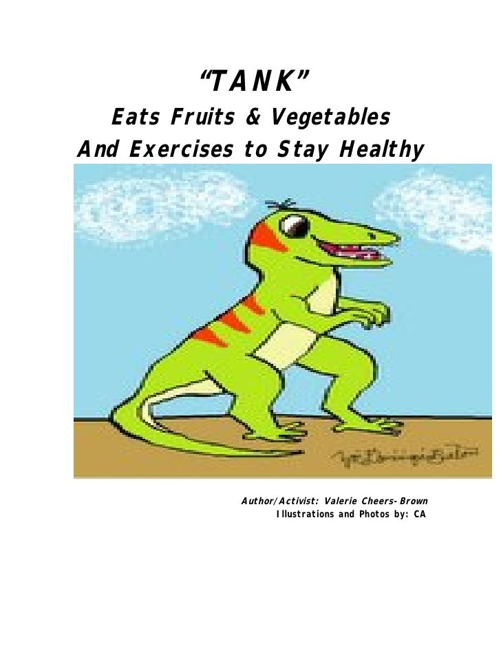 """TANK"" Eats Fruits & Vegetables And Exercises to Stay Healthy"