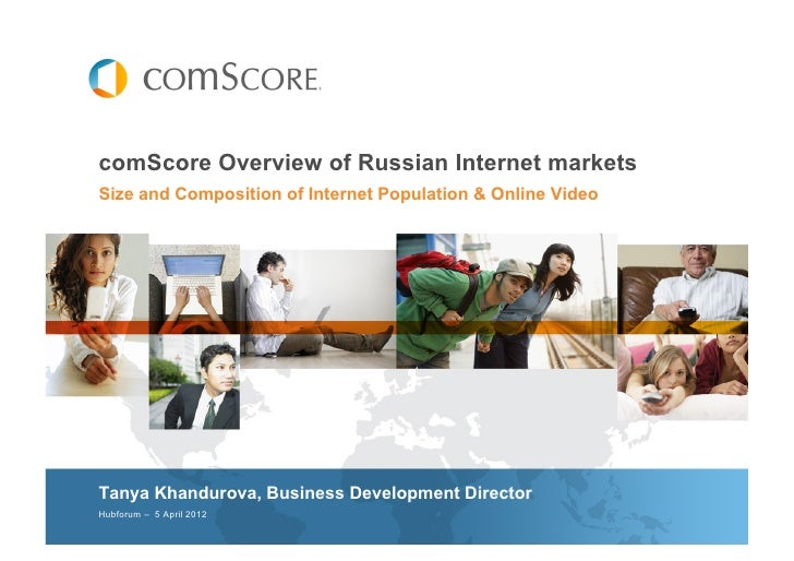 comScore Overview of Russian Internet markets