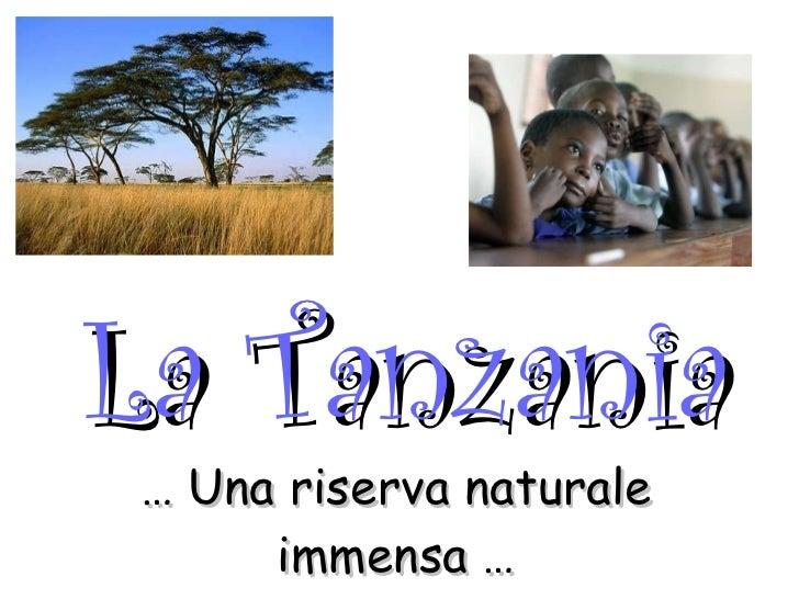 Presentazione Tanzania