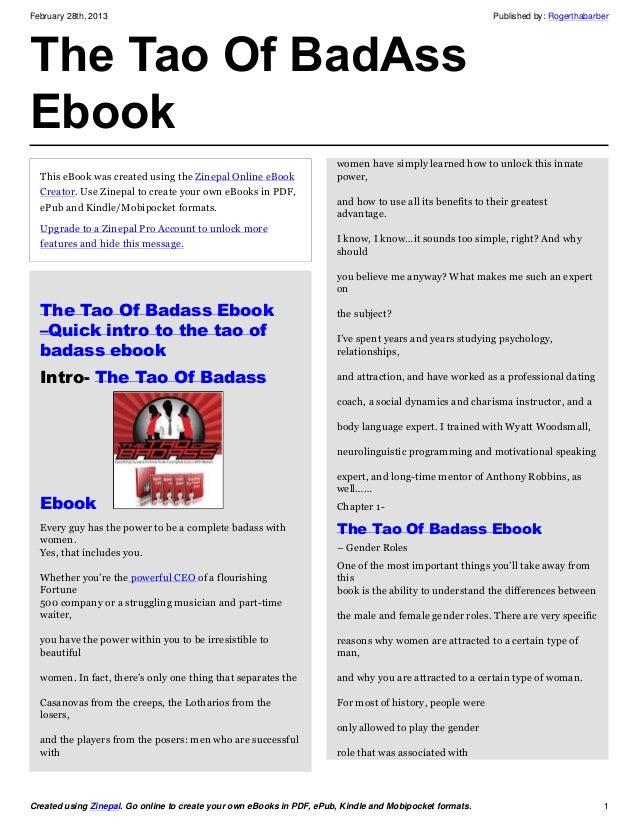 Tao ebook
