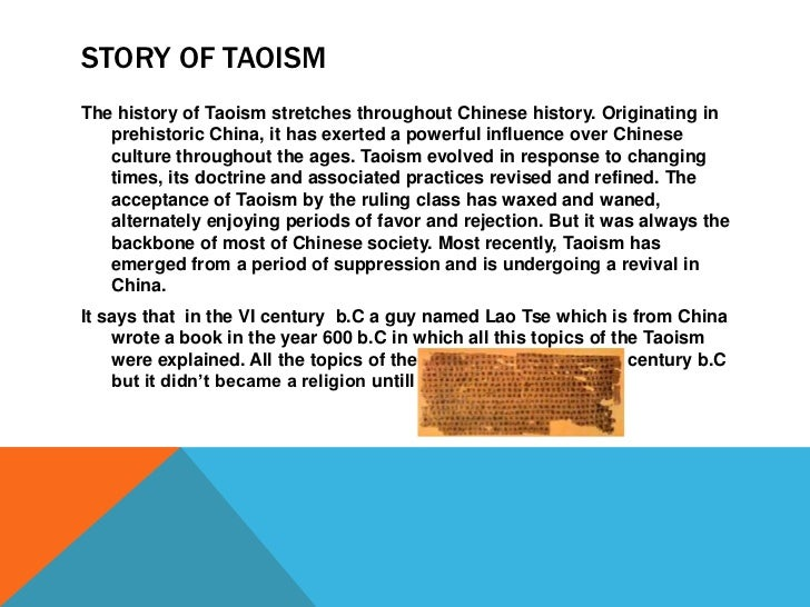 the origin and beliefs of taoism in china since the sixth century Religion in china reflects the pluralism and diversity in beliefs religion in china taoism with a history that dates back to the sixth century bc, taoism is.