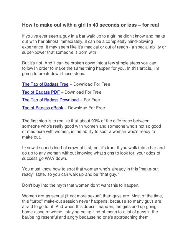 the tao of badass free pdf