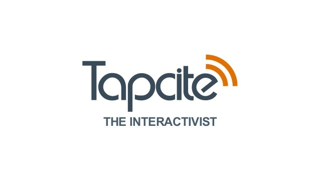 Tapcite - Engage with your story