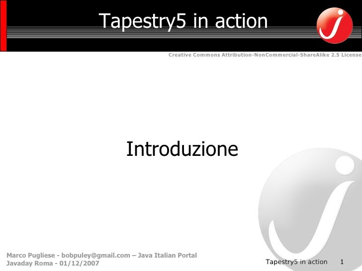 Tapestry 5 in Action Introduzione