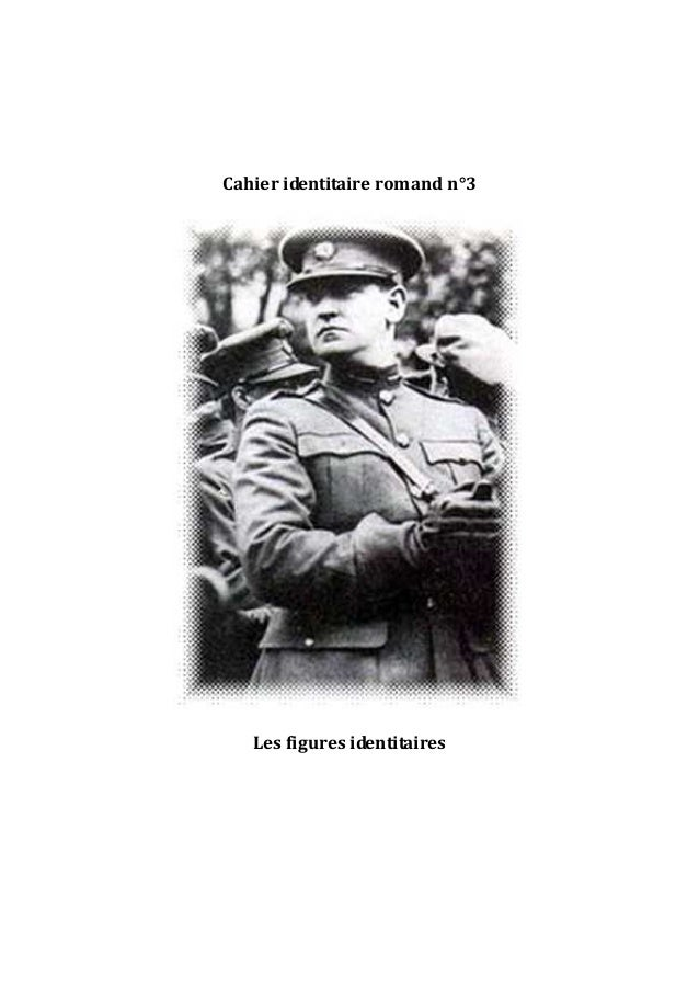 Cahier identitaire romand n°3 Les figures identitaires