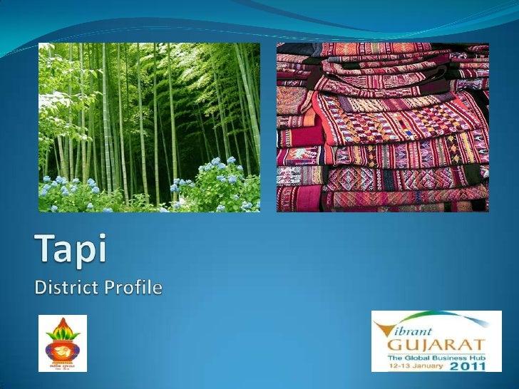 Tapi - District Profile