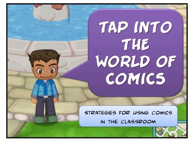 Tap Into The World Of Comics #2:Comic Version