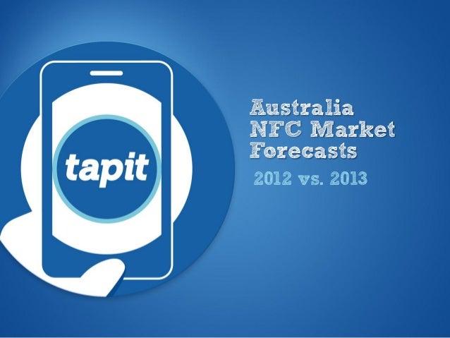 Tapit australian nfc handset forecasts 2013