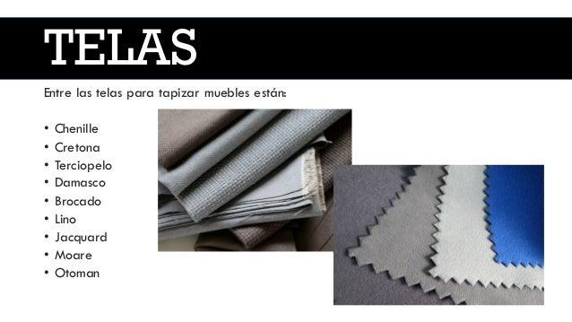 Tapizado - Tipos de telas para sofas ...