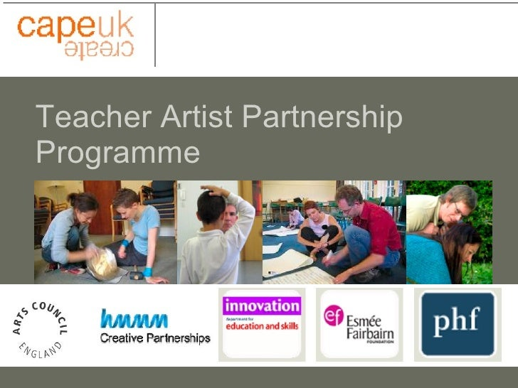 Teacher Artist Partnership Programme