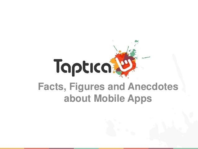 Facts, Figures and Anecdotes     about Mobile Apps