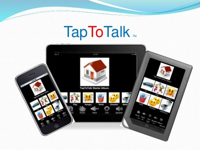 Tap to talk powerpoint