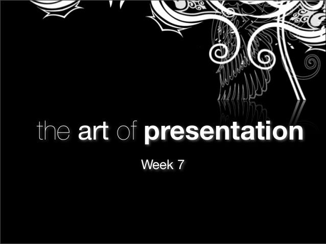 TAP - Week 7