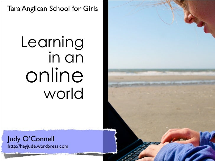 Tara Anglican School for GirlsJudy O'Connellhttp://heyjude.wordpress.com