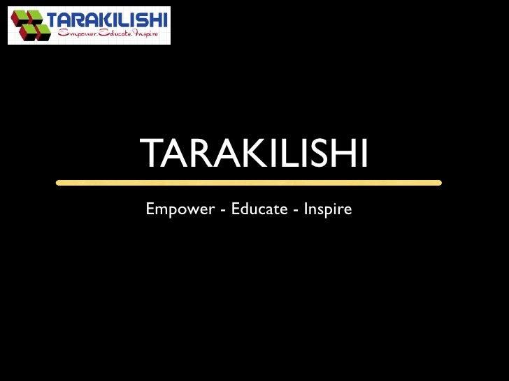 Tarakilishi intro