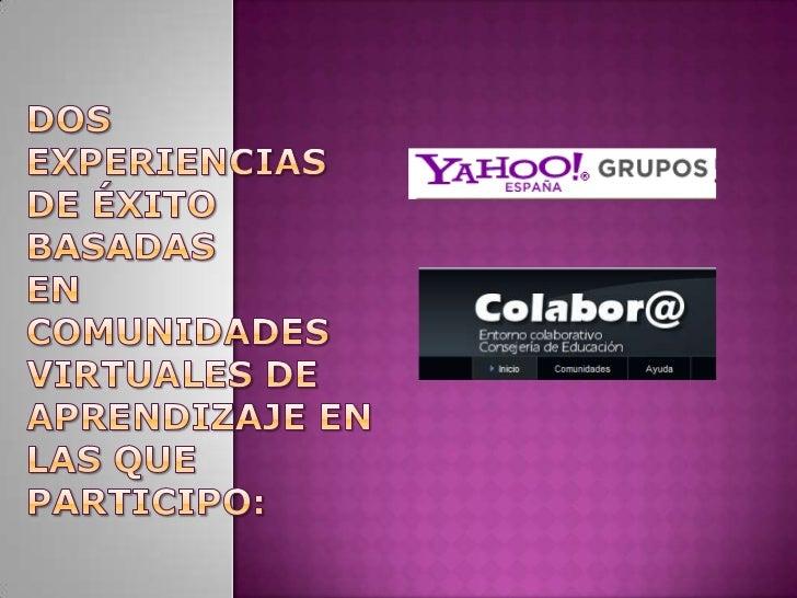 ¿Qué es un grupo de Yahoo!?Es el lugar donde la gente con algún interés en común puede conocersee informarse. El grupo te ...