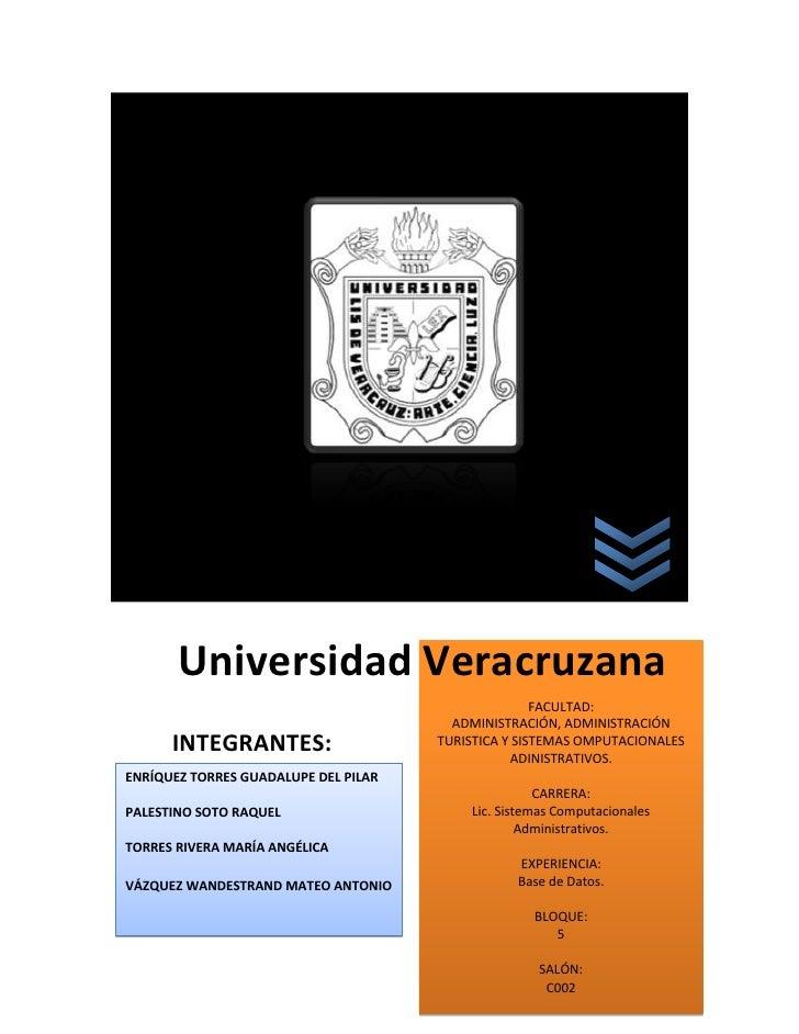 139065100330COMPARACIÓN ENTRE DIFERENTES SMBD00COMPARACIÓN ENTRE DIFERENTES SMBD5676905187950Universidad VeracruzanaUniver...