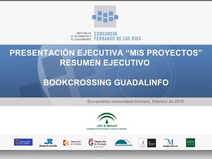 Presentacion Bookcrossing